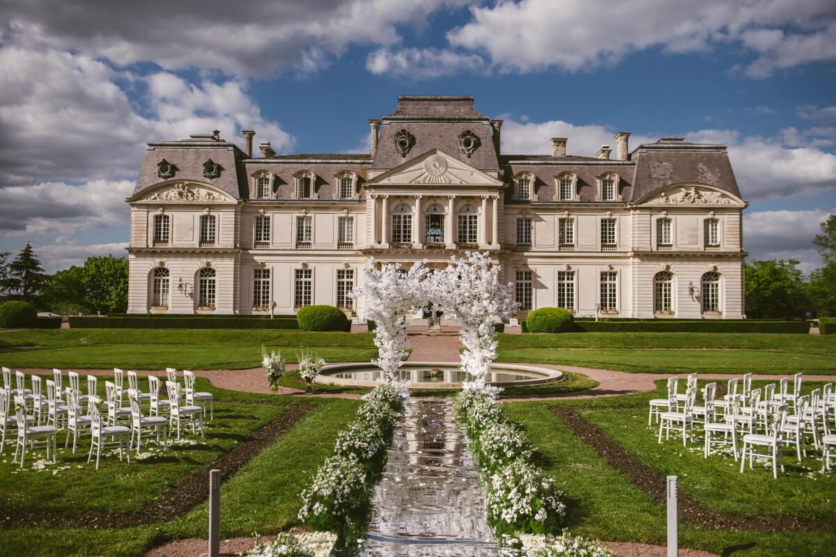 wedding venue Chateau d'Artigny