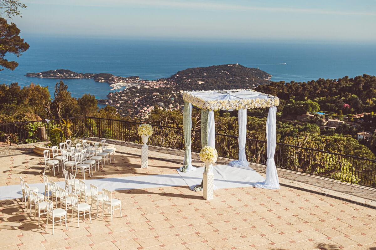 wedding venue Domaine de Mont Leuze