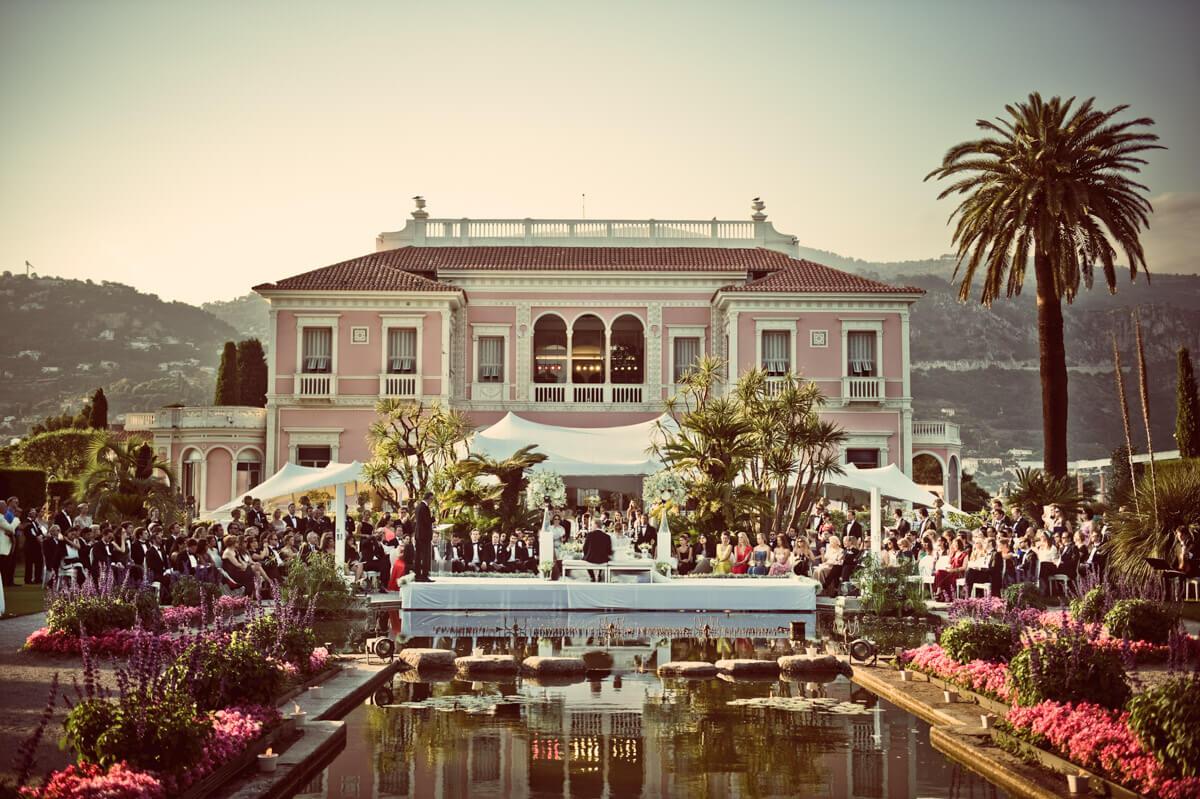 wedding venue Villa Ephrussi de Rothschild