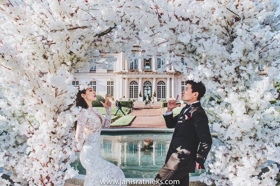 Chinese prewedding Paris