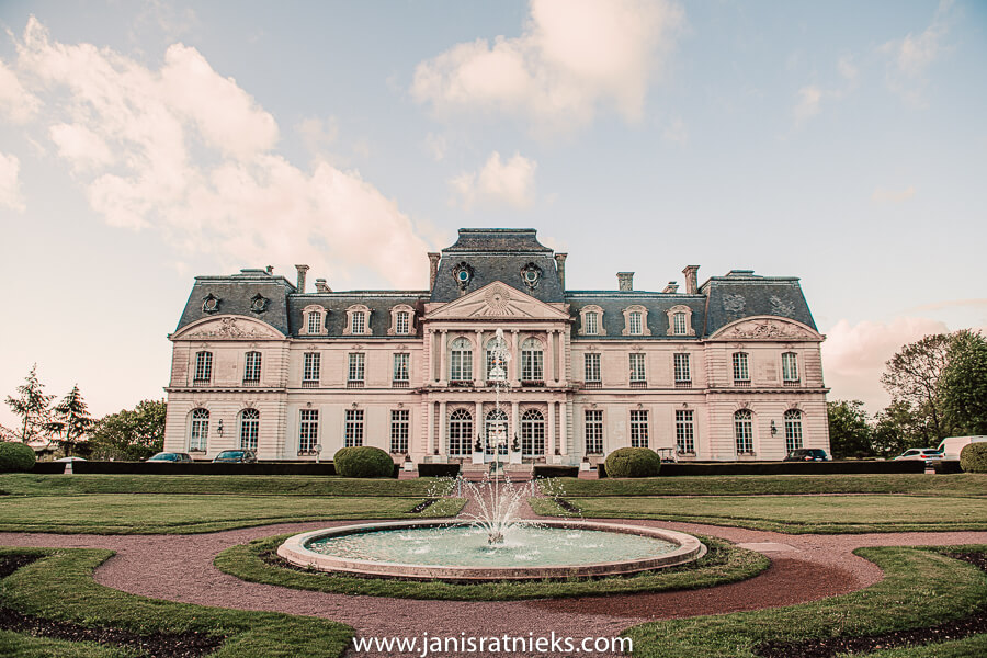 French Castle destination wedding in Loire Valley
