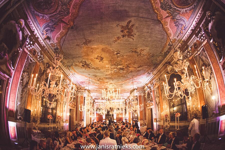 Pisani Moretta painted ceilings Venice