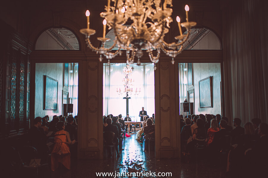 Venice indoors