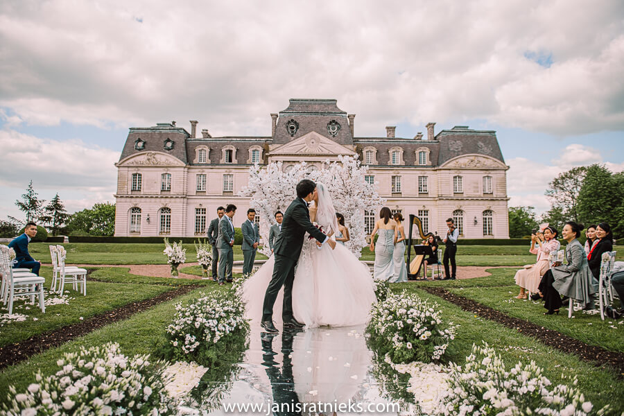 chinese wedding in France