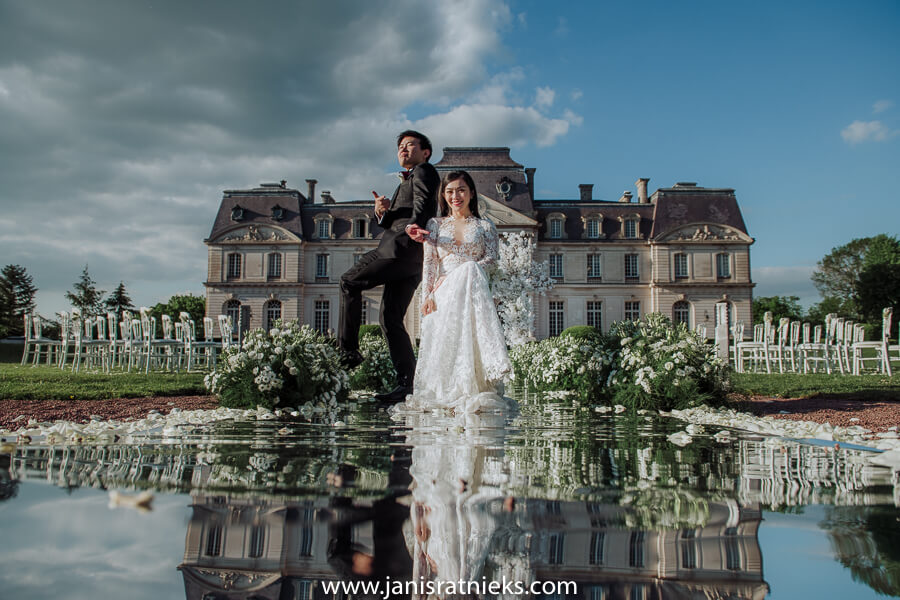 chinese wedding photographer France