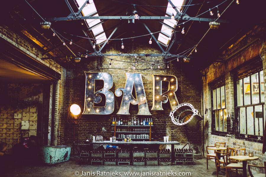 cool wedding bar