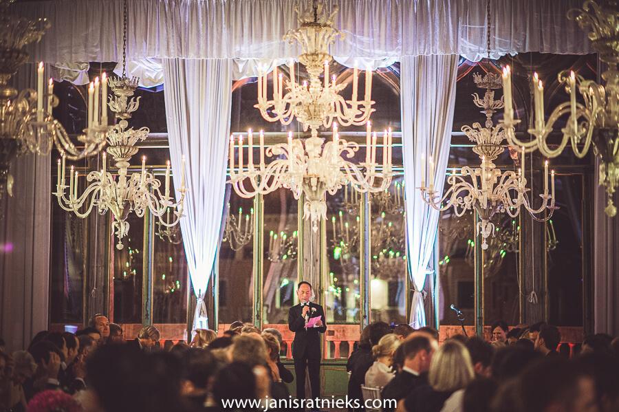 indoor wedding Venice