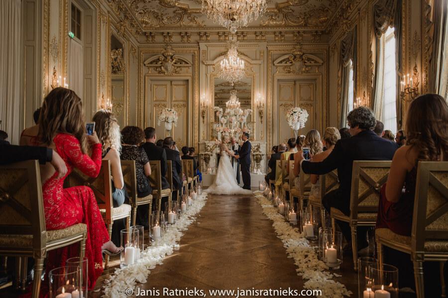 paris wedding indoors