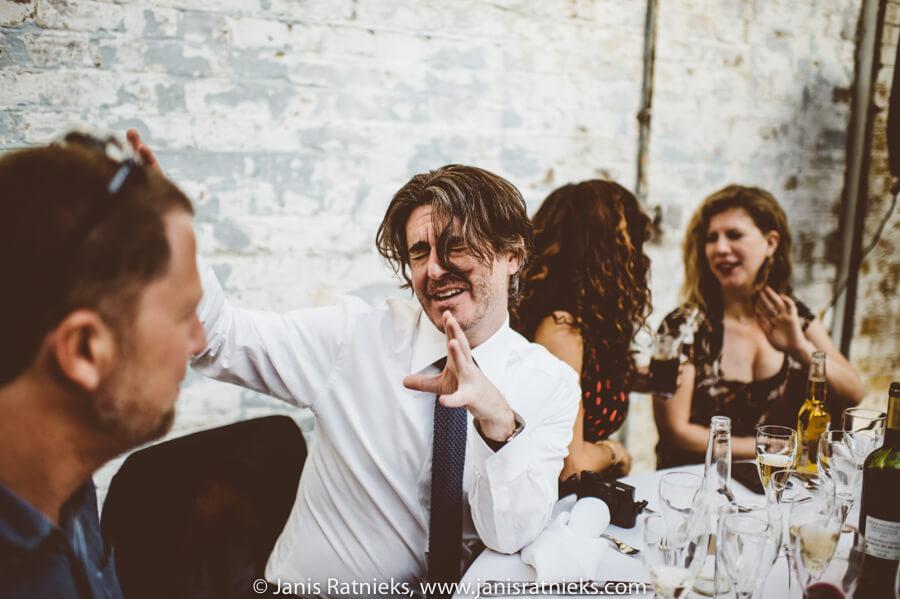wedding reception in MC Motors