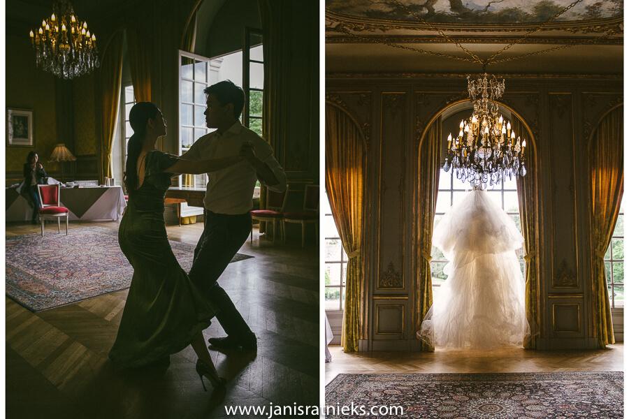 wedding dance Tango practice