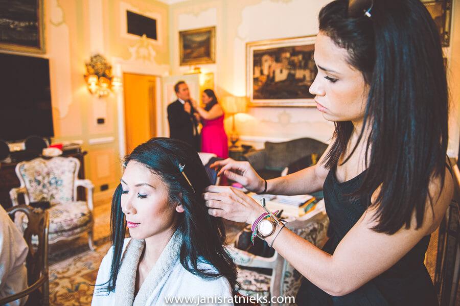 wedding makeup venice
