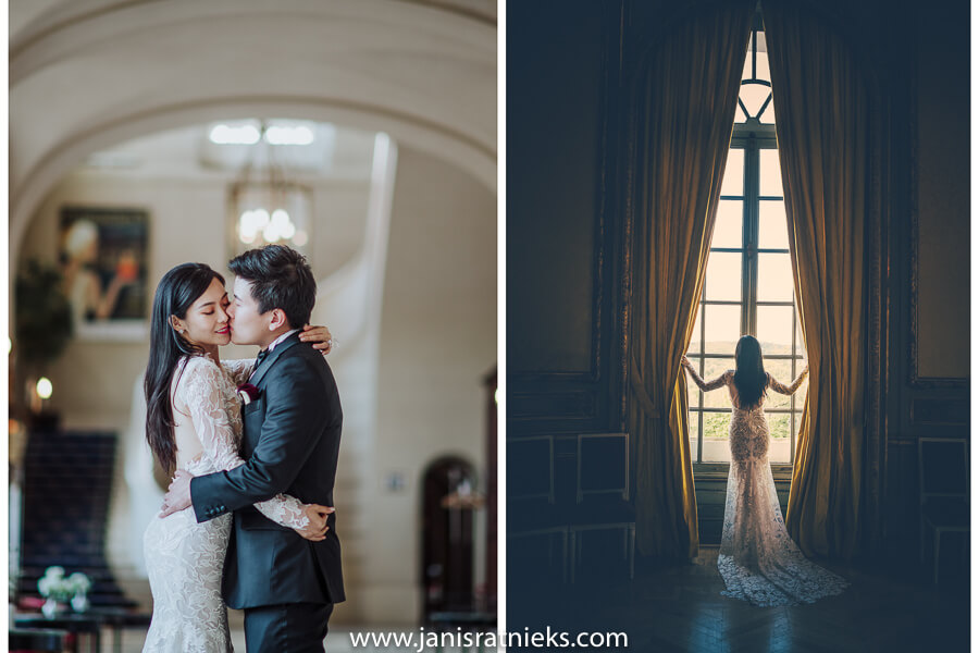wedding photographer chateau d'artigny