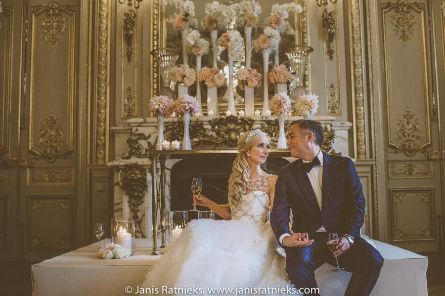 picture perfect Shangri-La Paris destination wedding