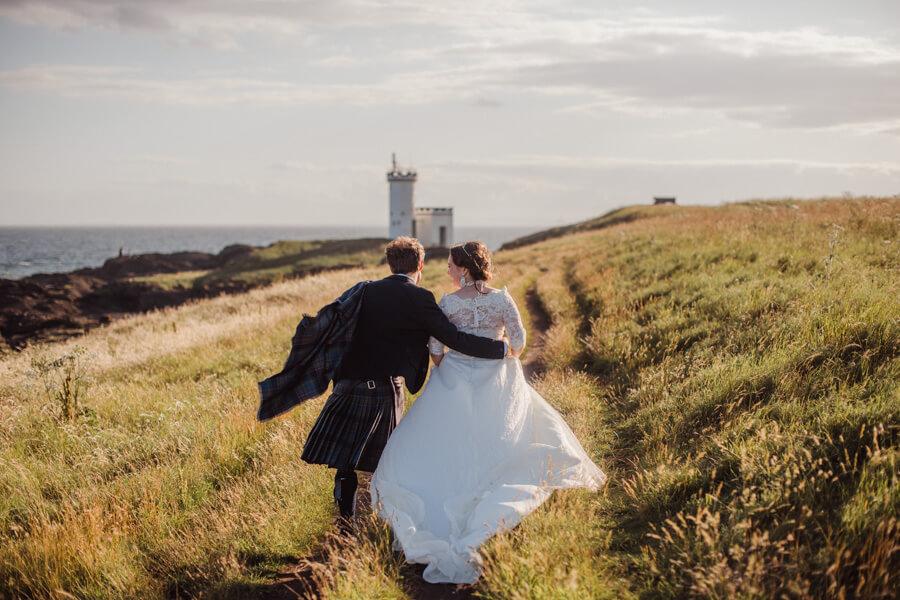 sunny elopement in Scotland