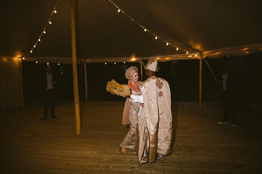 African wedding costumes