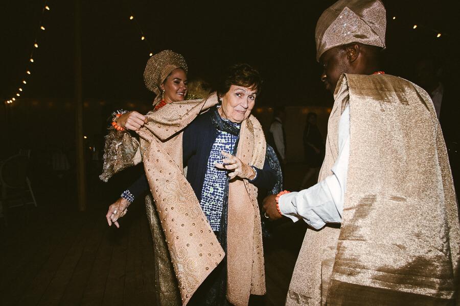 African wedding in France