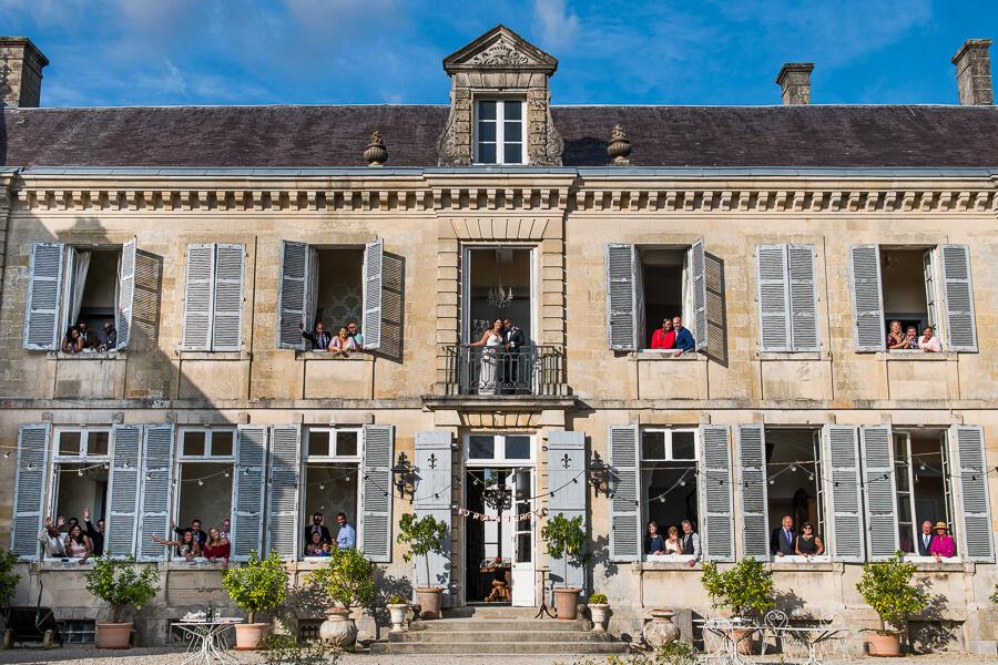 chateau de mairy wedding day