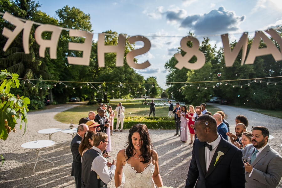 relaxed style wedding