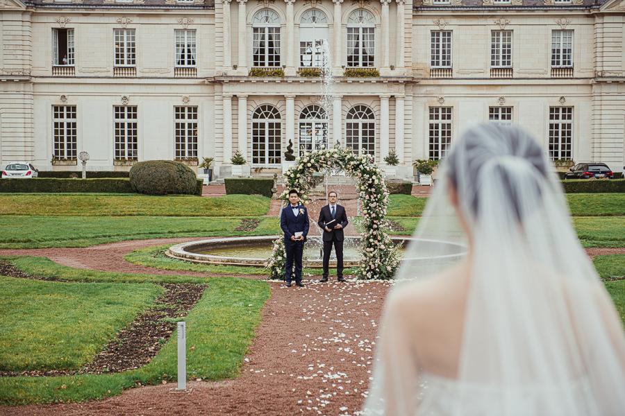 spring wedding in France