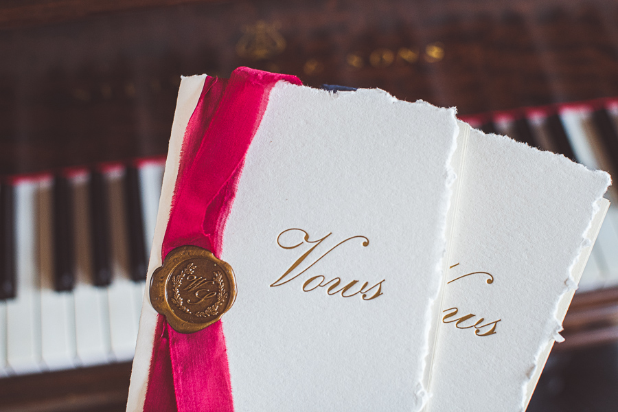 wedding vows french style