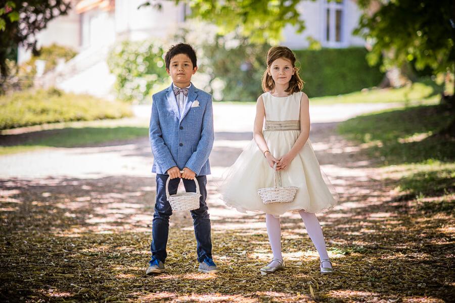 ring boy and flower girl