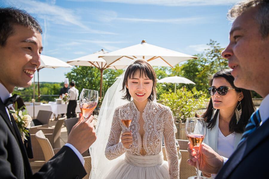 summer wedding in France