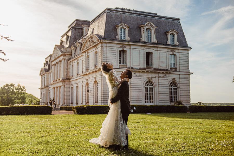 luxury asian wedding in France