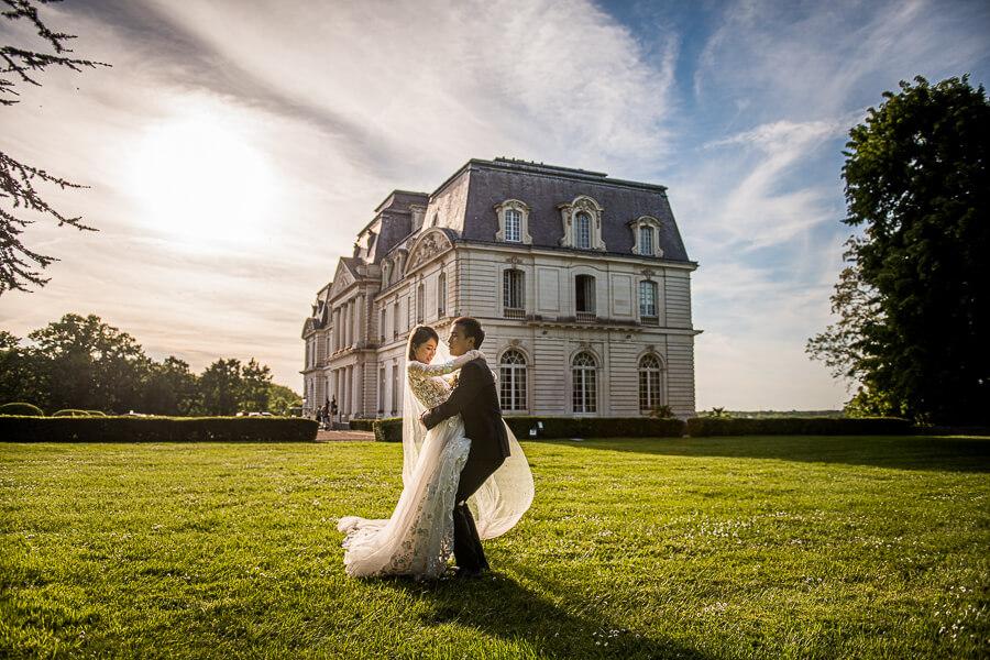 asian wedding photographer in France
