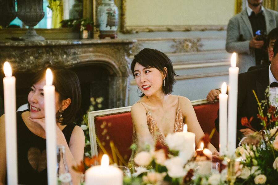 bridal gold dress