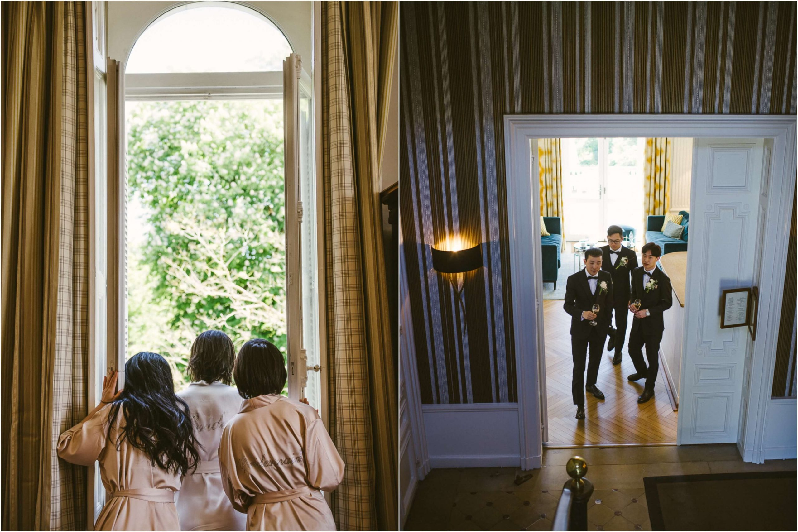 bridesmaids and best men photography