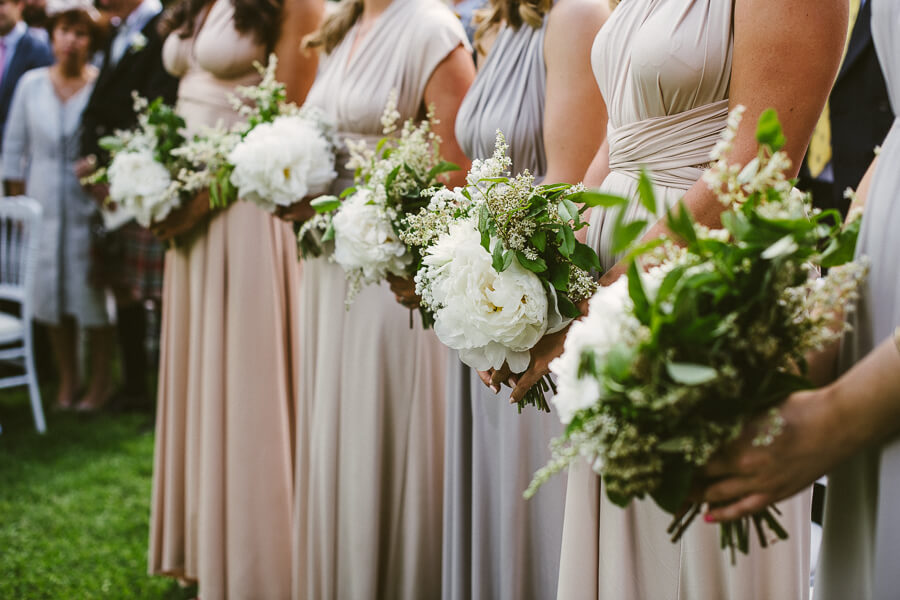 brides maids bouquets