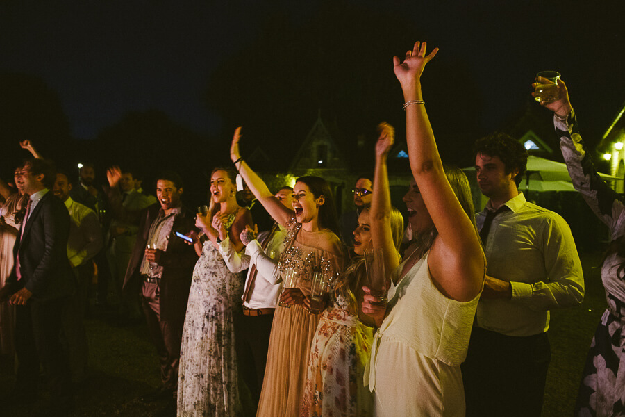 how to entertain guests in a wedding