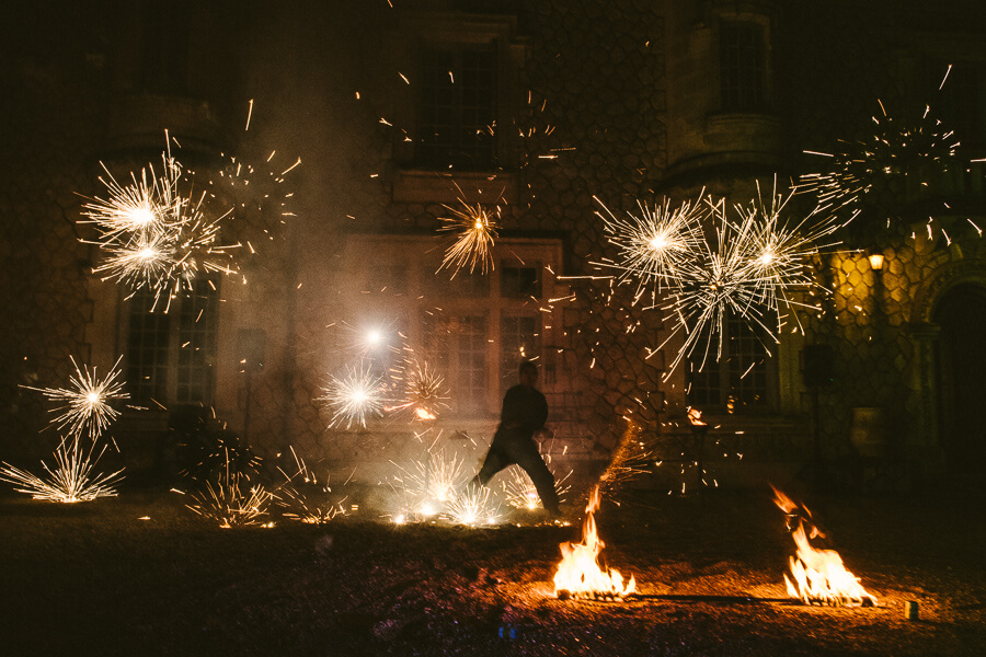 wedding firework alternative