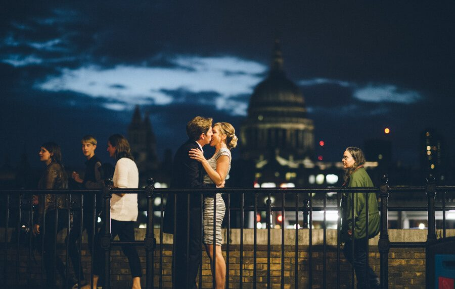 Night photoshoot with St Pauls in the background
